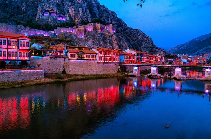 Amasya'da Gezilecek Yerler